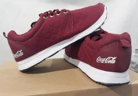 c6a9282abf Tenis Coca Cola Sense Feminino Oferta Crossfit Academia Fofo