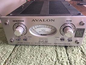 Pré Amplificador Avalon M5 Com Fonte Original