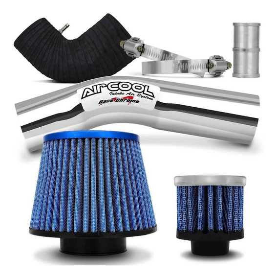 Kit Intake Air Cool Filtro Esportivo Fox Gol Voyage G5