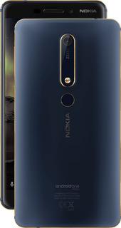 Nokia 6.1 Telcel Movistar Att 32 Rom 3 Ram 16 + 8 Mpx 4g Lte