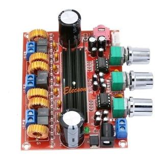 Modulo Amplificador Clase D 2.1 + Fuente 24v
