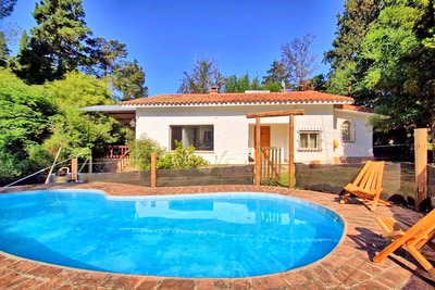 Casa En Villa Gral Belgrano 2430m2/130m2cub A 600 Mts.centro