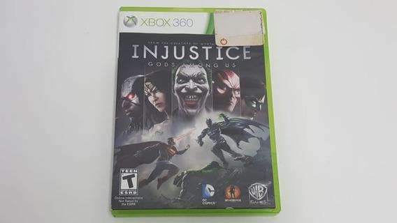 Injustice Gods Among Us - Xbox 360 - Original - Mídia Física