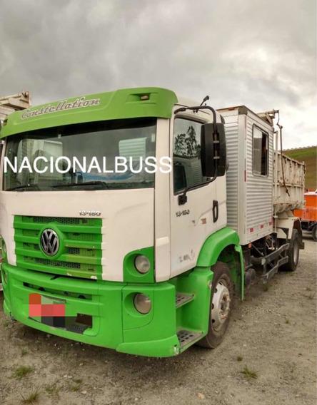 Caminhão Volks 13180 Caçamba Com Cabine Auxiliar