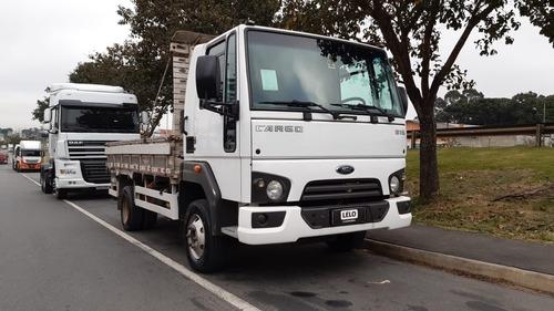 Imagem 1 de 14 de Ford Cargo 816 Ano 2017 3/4 Caminhão Impecável