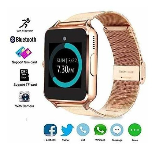 Mytech Smartwatch Z60 Reloj Celular Con Extensible De Metal