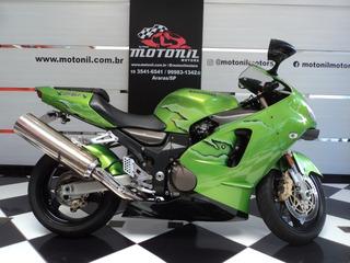 Kawasaki Ninja Zx 12 Verde 2002