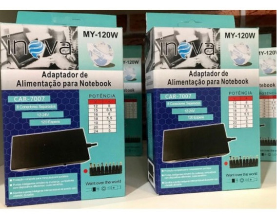 Carregador Universal Notebook Cce Acer Hp Dell Positivo