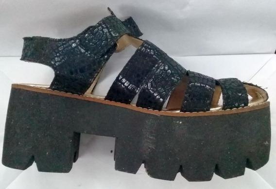 Zapatos Con Plataforma Damas/adolescentes