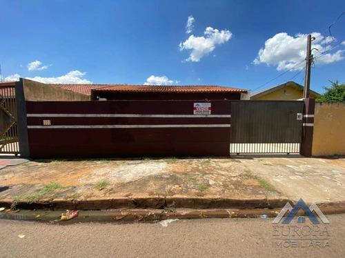 Imagem 1 de 20 de Casa Com 2 Dormitórios À Venda, 82 M² Por R$ 190.000,00 - Ernani De Moura Lima - Londrina/pr - Ca1264