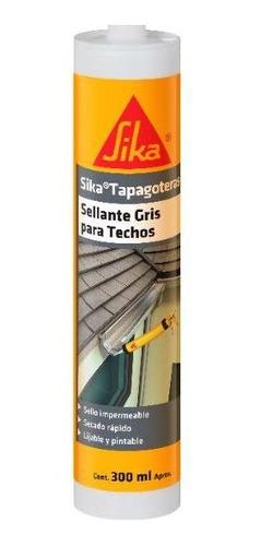 Imagen 1 de 6 de Sika Tapagoteras + Sellante Gris 300 Ml