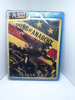 Sons Of Anarchy Temporada 2 Original Nueva Bluray