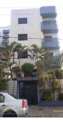 Imagem 1 de 23 de Apartamento Com 2 Dormitórios À Venda, 56 M² Por R$ 210.000,00 - Tupi - Praia Grande/sp - Ap2214