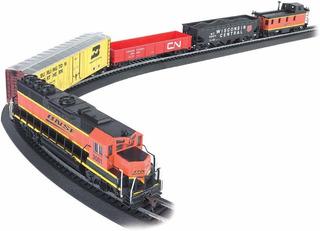 Tren,bachmann Rail Ready To Run Set Tren Eléctrico Jefe ..