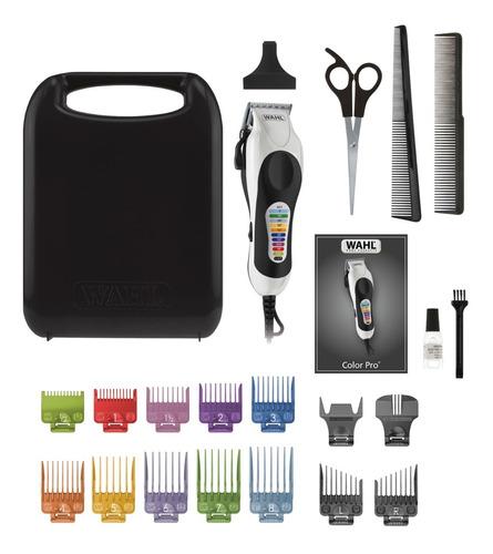 Maquina Peluquería Wahl Color Pro + Kit De 22 Piezas 99466