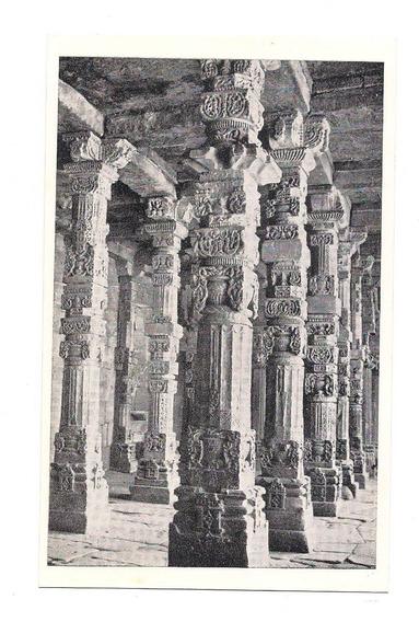 Antigua Postal Foto Delhi Mesquita Quwat Ul Islam India 533