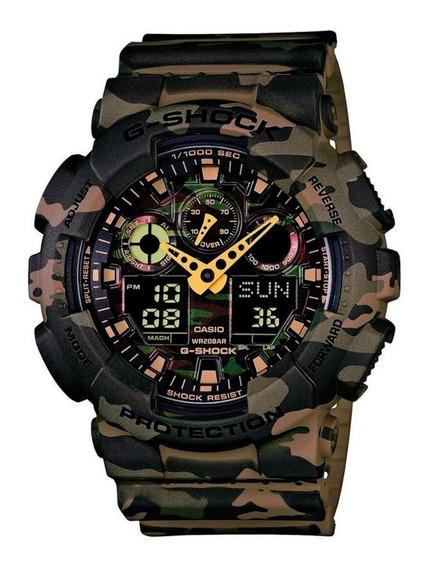 Relógio Casio Masculino G-shock Ga-100cm5adr+brinde
