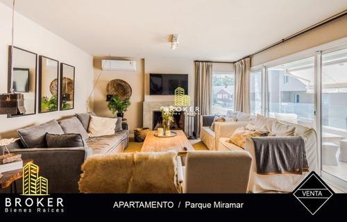Apartamento En Venta De 2 Dormitorios En Parque Miramar