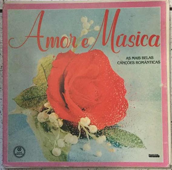 Lp As Mais Belas Canções Românticas - Amor E Música - 6 Lps