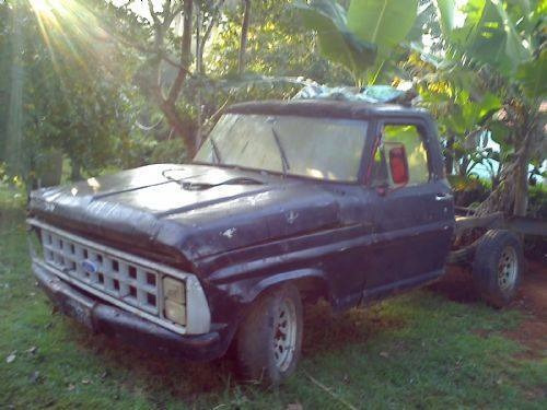 Chassis Ford F100 1975