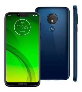 Celular Motorola Moto G7 Power Indigo 32gb 3gb Ram +pelicula