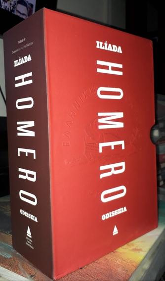 Homero Coleção Ilíada E A Odisséia Capa Dura + Boxe (usado)