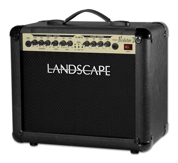 Amplificador Guitarra Landscape Pdt20 Triefx Delay Chorus