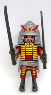 Playmobil Aventura Historia Nº 11 Los Samurais Del Antiguo