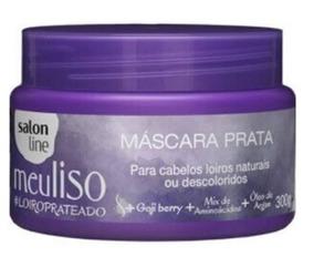 Máscara Capilar Salon Line Meu Liso Prata - 300g 24un