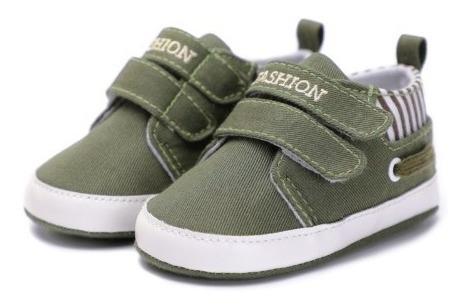 Sapato Tenis Masculino Feminino Bebê Kids Infantil Verde