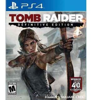 Juego Ps4 Tomb Raider Definitive Edition Nuevo Sellado