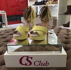Sandalia Cs Club Amarela Nova Feminina Oferta
