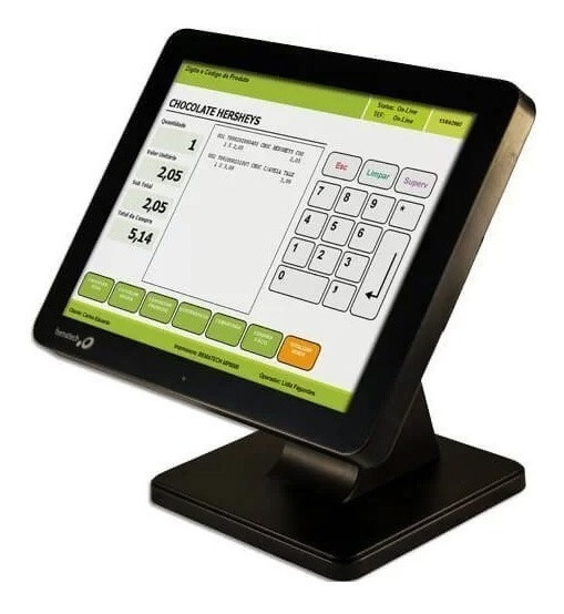 Computador Touch Bematech Sb-1015 J1900 | 4gb Ram | Hd500 Gb