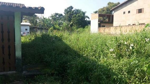Terreno No Litoral Com 300 M², Em Itanhaém/sp 4210-pc