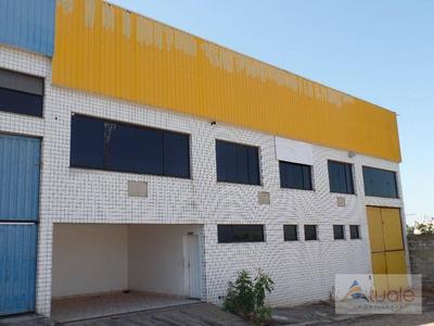 Galpão Para Alugar, 500 M² - Jardim Amanda Ii - Hortolândia/sp - Ga0125