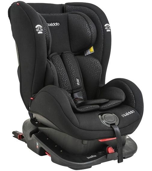 Cadeira Auto Star Isofix 0 À 25kg Inclinação Kiddo Preto