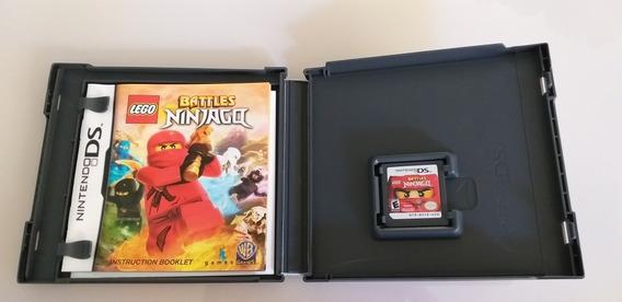 Jogo Nintendo Ds Battles Ninjago