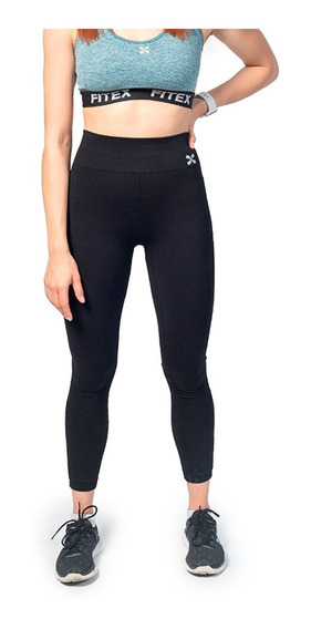 Para Mujeres Color Sólido Sin Costuras Pretina ancha Leggings Capri