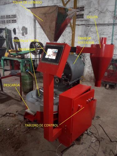 Tostadora De Cafe 12 Kilos Automatizada