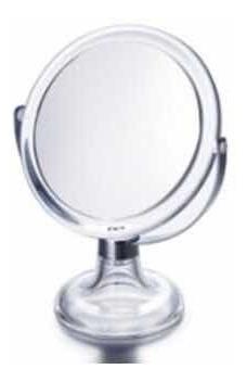 Espejo Movil De Pie Para Maquillaje Con Aumento