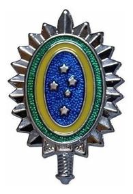 Distintivo De Boina Brasão Exército Brasileiro Padrão Rue