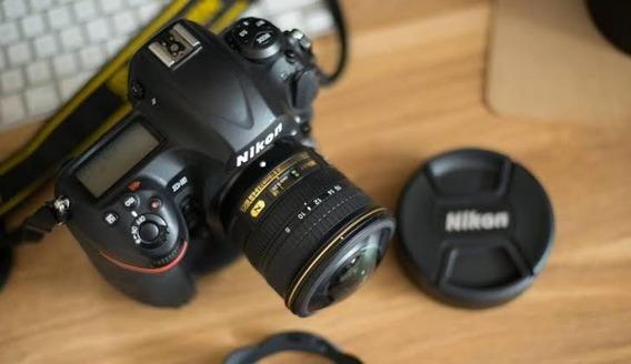 Câmera Nikon D7500 + Lente 18-55 Caixa E Itens Originais