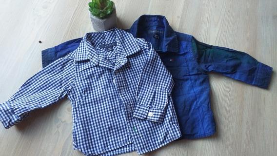 Camisas Tommy Hilfiger De 3-6 Mesesprecio X 2