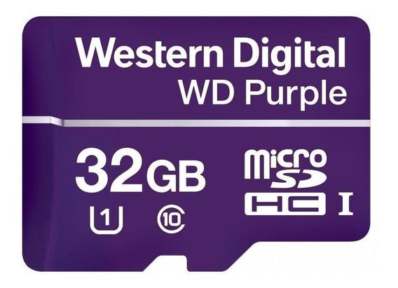 Tarjeta de memoria Western Digital WDD032G1P0A WD Purple 32GB