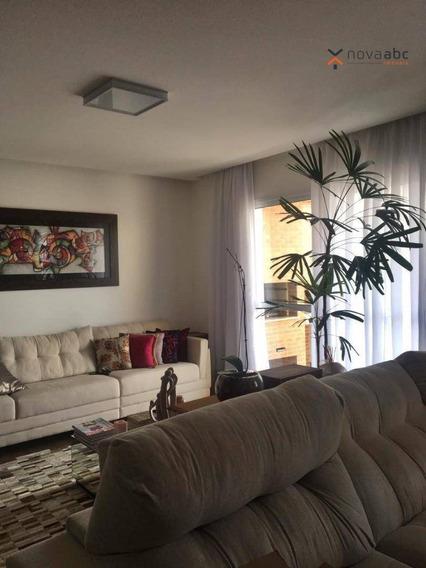 Apartamento Com 3 Dormitórios À Venda, 132 M² Por R$ 850.000 - Jardim - Santo André/sp - Ap1360