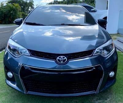 Toyota Corolla Tipo S Azul Carfax 15