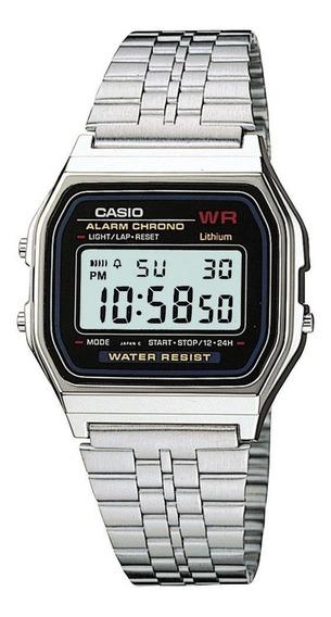 Relógio De Pulso Casio Retro Vintage - A Pronta Entrega