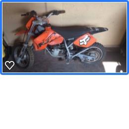 Motocicleta Ktm 50 Mini Adventure