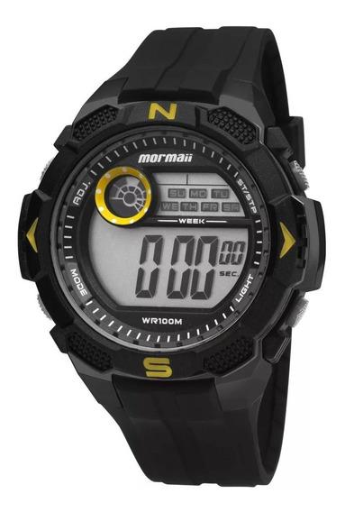 Relógio Mormaii Digital Masculino Esportivo Mo2909a/8y + Nf