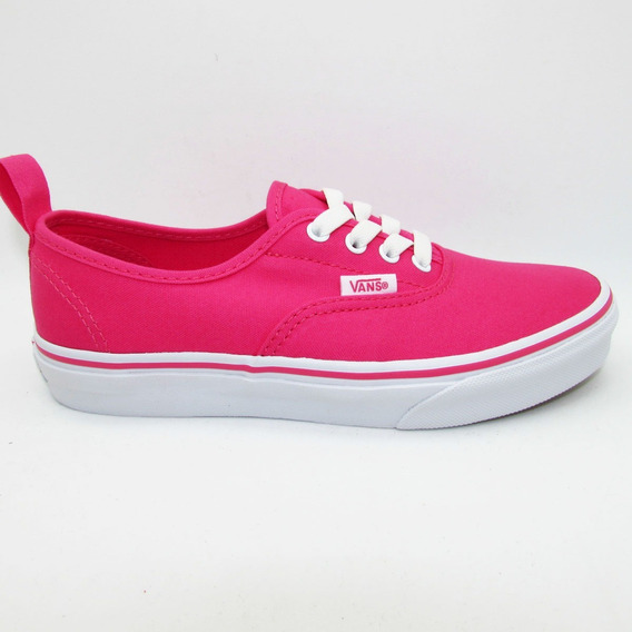 Tenis Vans Authentic Elastic Vn0a38h480a Hot Pink True White